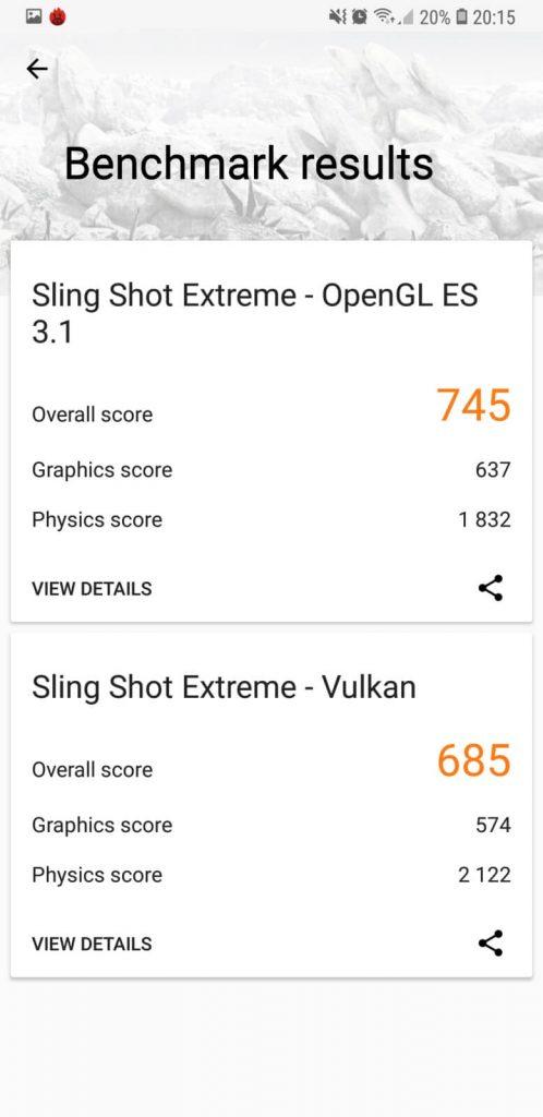 Samsung Galaxy A7 benchmarki