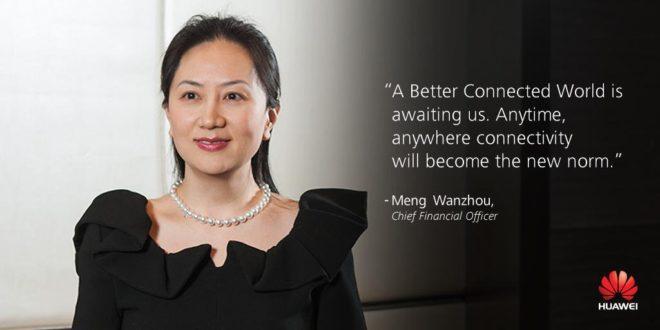 Huawei dyrektor finansów