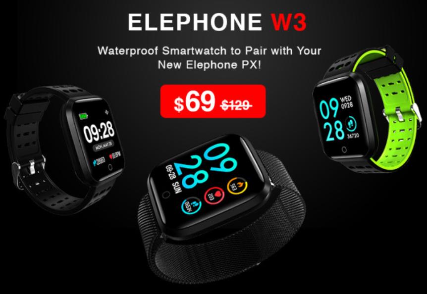 elephone w3 1