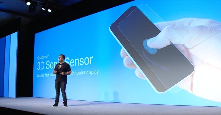 qualcomm 3d sonic sensor