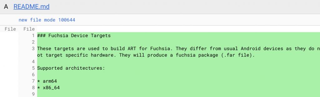 fuchsia android routine