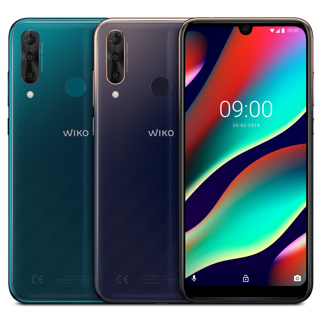 Wiko_MWC2019_View-3-Pro_All-Colors-01_LD