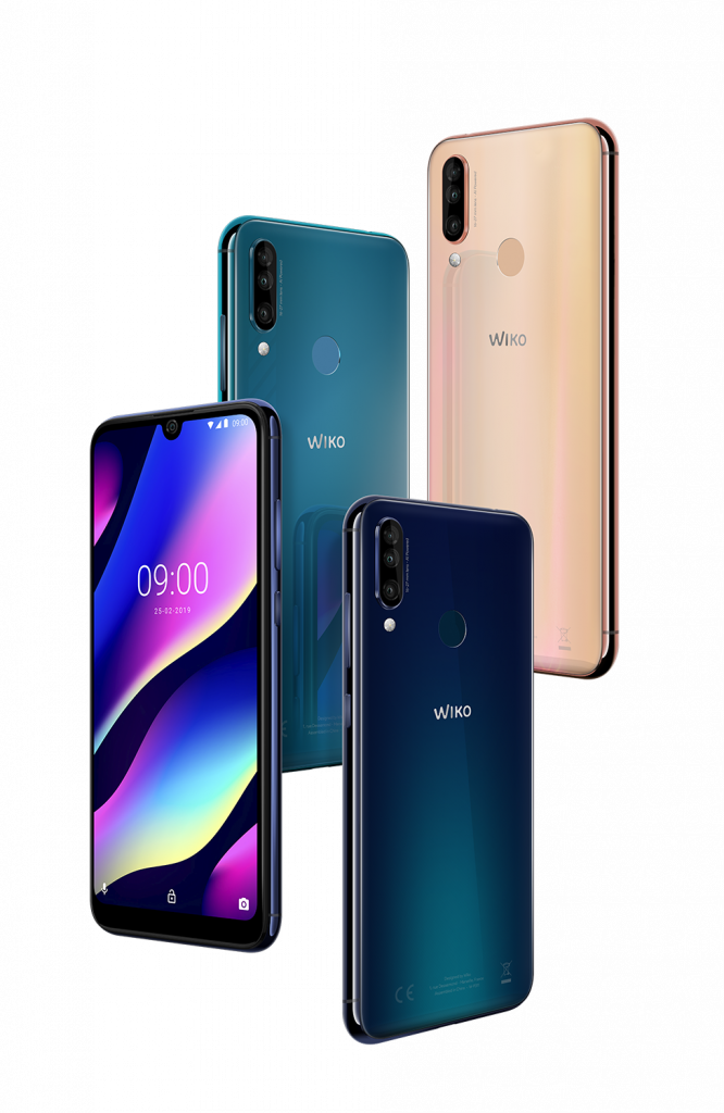 Wiko_MWC2019_View-3_All-Colors-02_LD