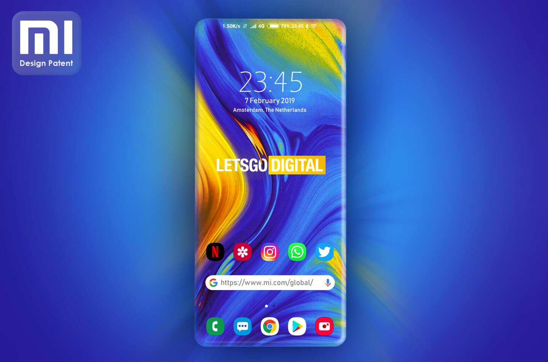 Xiaomi zagięty ekran
