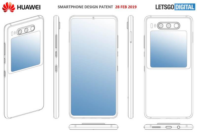 Huawei dual display