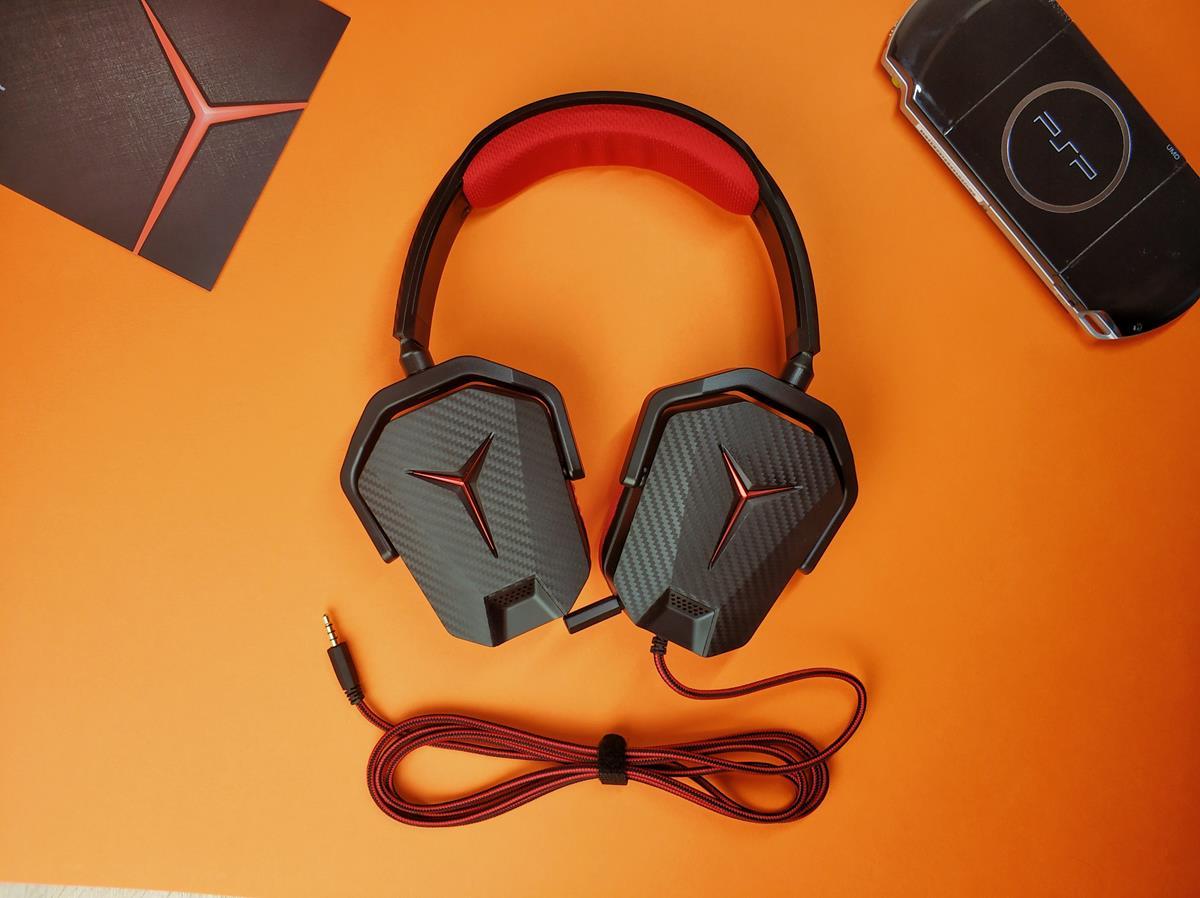 Recenzja tanich słuchawek gamingowych Lenovo Legion Y Gaming Headset