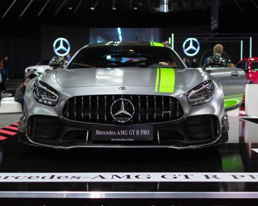 Poznan Motor Show Mercedes-AMG