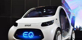 Smart EQ Geely x Mercedes