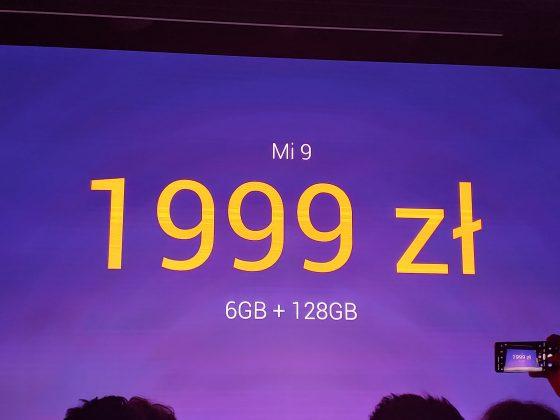 Xiaomi Mi 9 premiera Polska