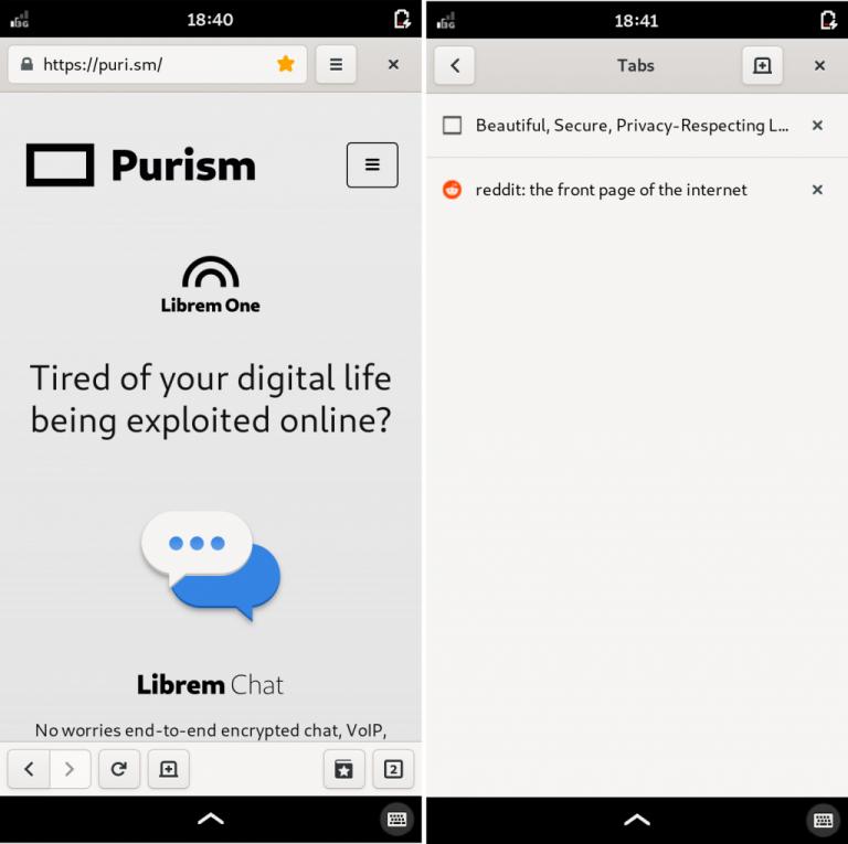 Purism dopracowuje system PureOS, który będzie obecny na Librem 5