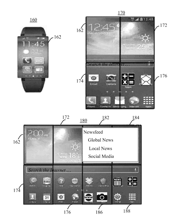 IBM zegarek patent