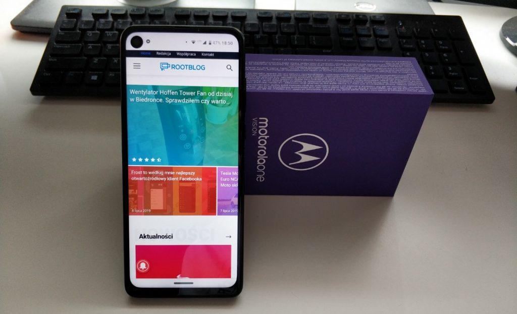 Motorola One Vision 8