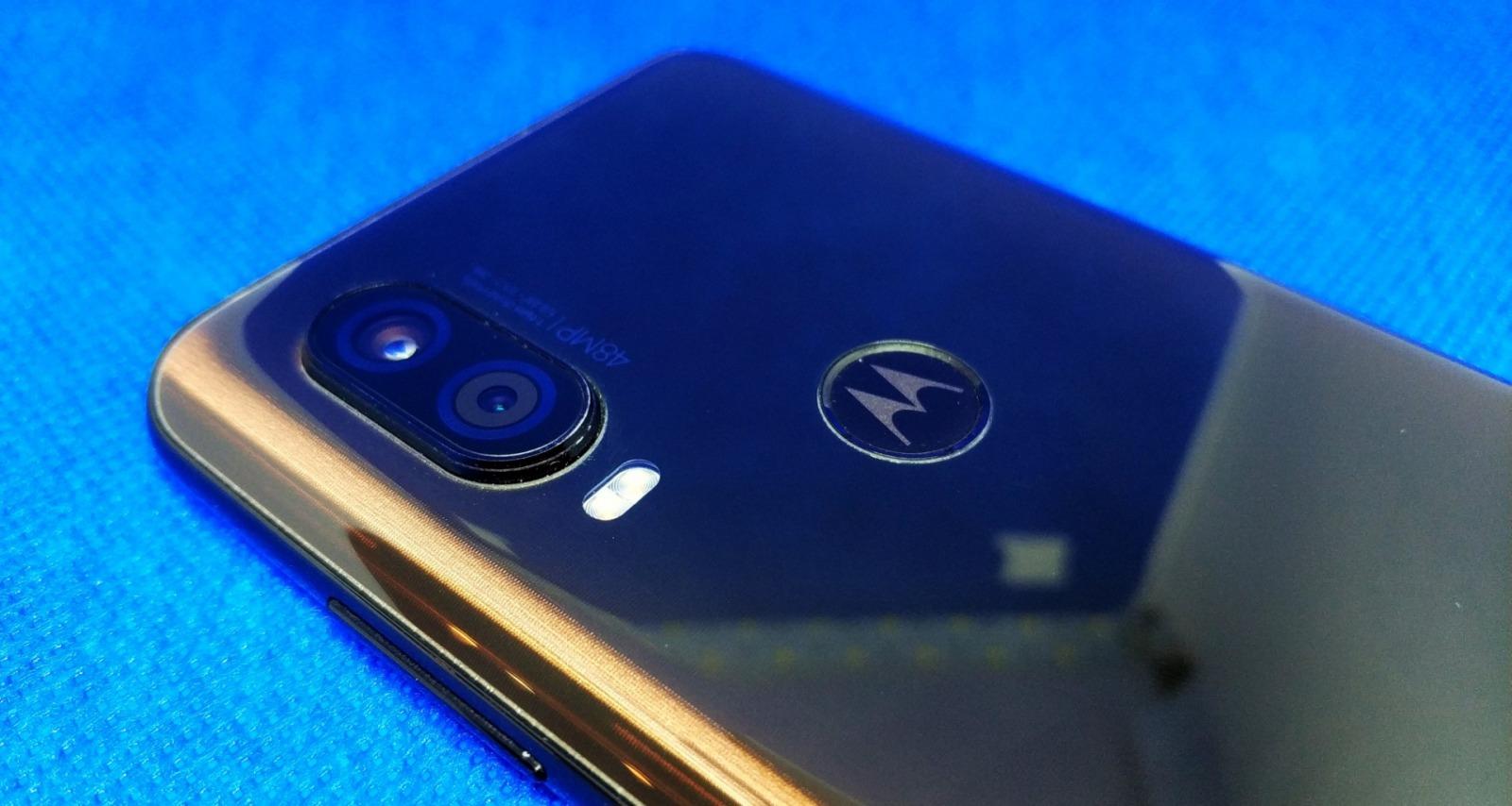 Motorola One Vision aparat