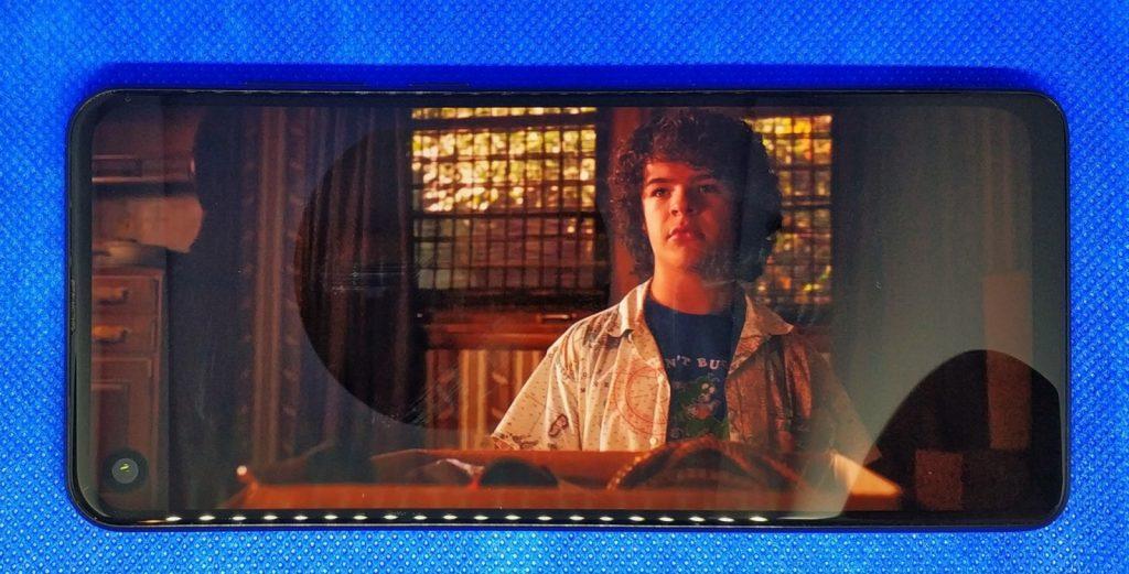 Motorola One Vision ekran