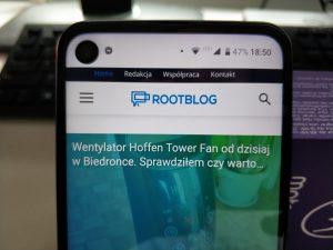 Motorola One Vision ekran 2