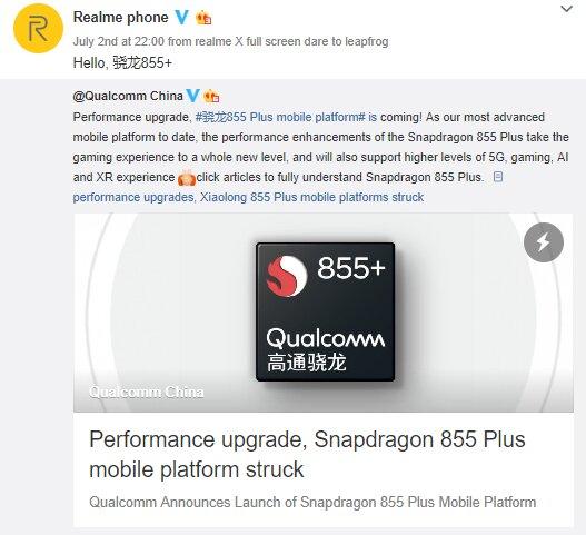 Realme Snapdragon 855