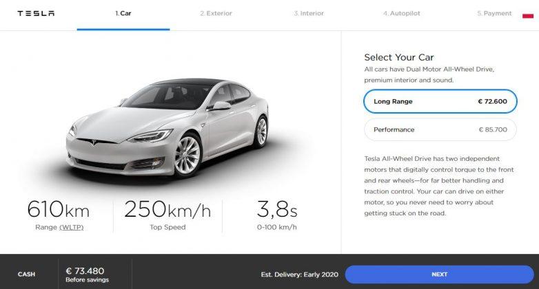 Tesla Model S Polska Ceny