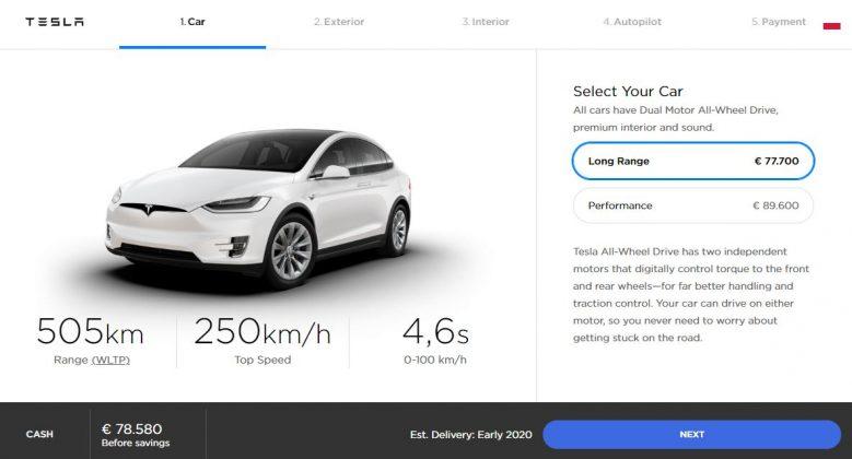 Tesla Model X Polska Ceny