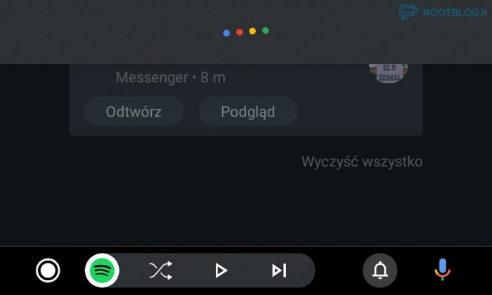 Android Auto nowy interfejs asystent