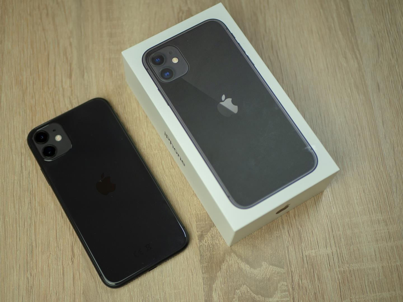iphone 11 pudełko tył