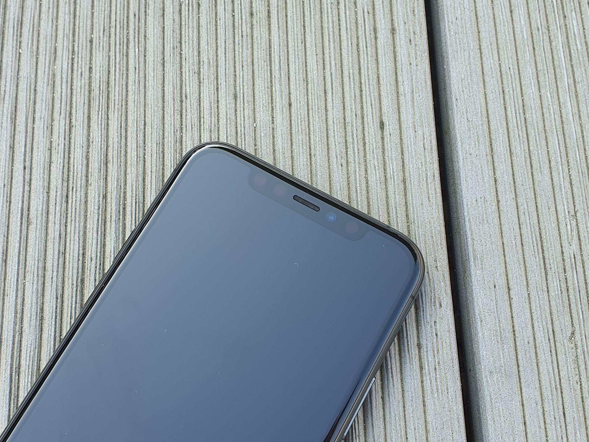 iphone 11 pro notch czarny ekran