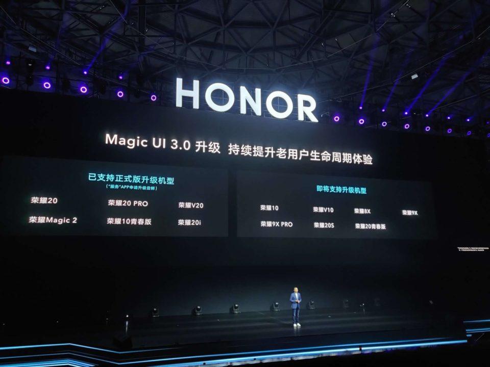 Magic UI 3.0 na Androidzie 10. Wiemy które Honory go dostaną!