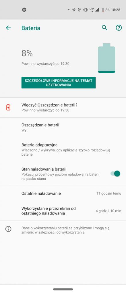 Motorola One Action SoT