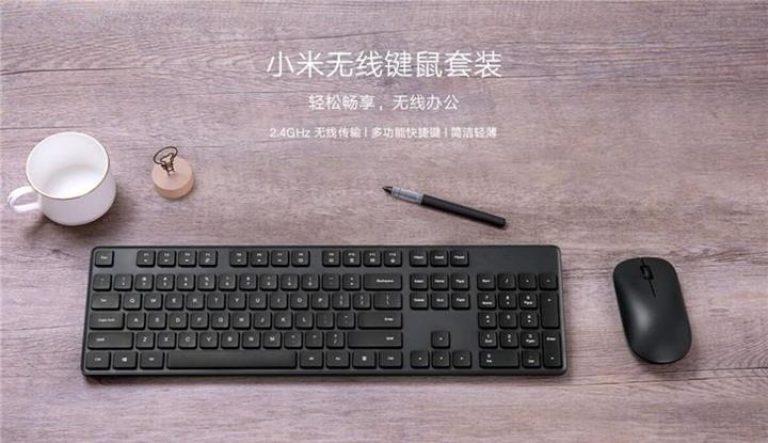 klawiatura i myszka Xiaomi
