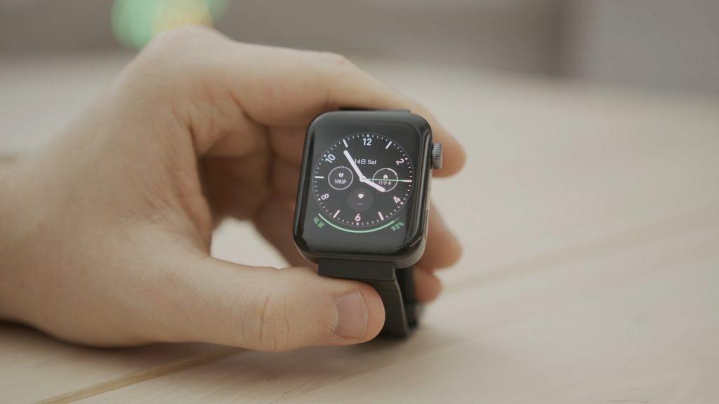 mi watch zegarek tarcza