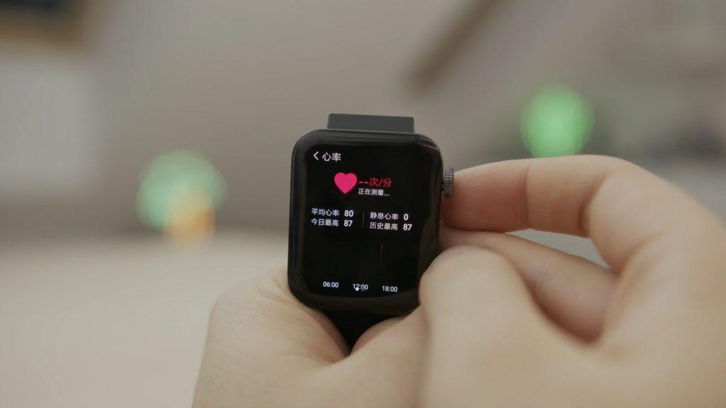 mi watch pulsometr