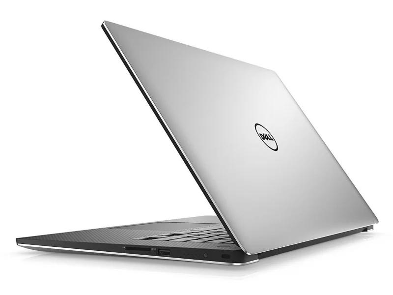 Dell XPS 9550 od boku tył
