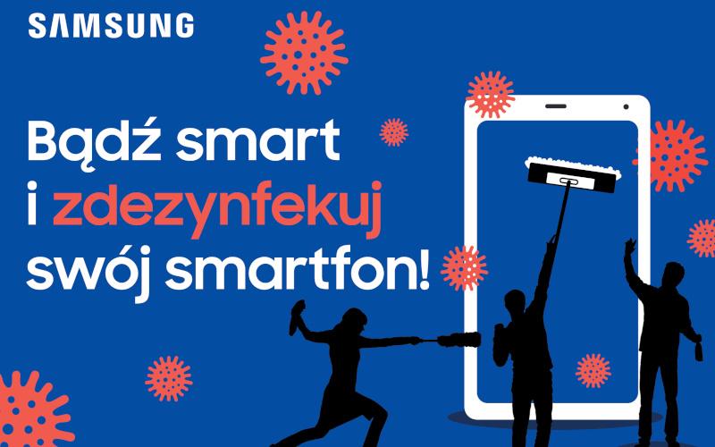 Samsung dezynfekowanie
