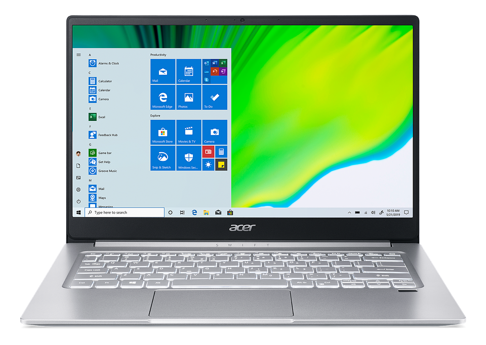 acer swift 3 front