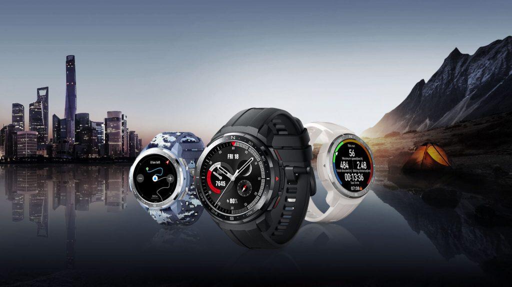 Obrazek przedstawia najnowsze zegarki Watch GS Pro