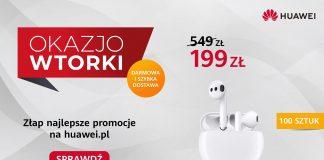 OkazjoWTOREK Huawei FreeBuds 3